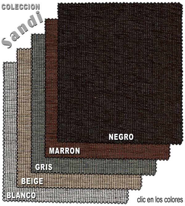 tejidos para tapizar sofa cama de la coleccion Sandy